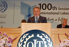 Дмитрий Фирташ выступил на сотой юбилейной сессии  международной организации труда